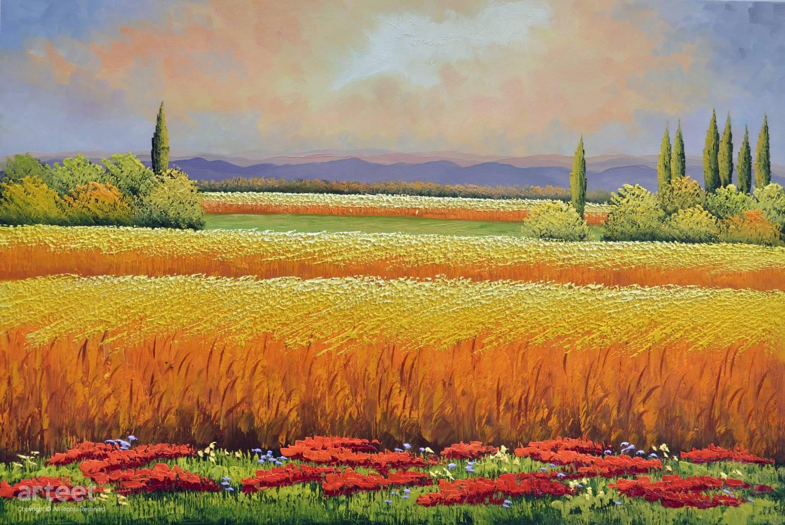 fields of gold art paintings for sale online gallery