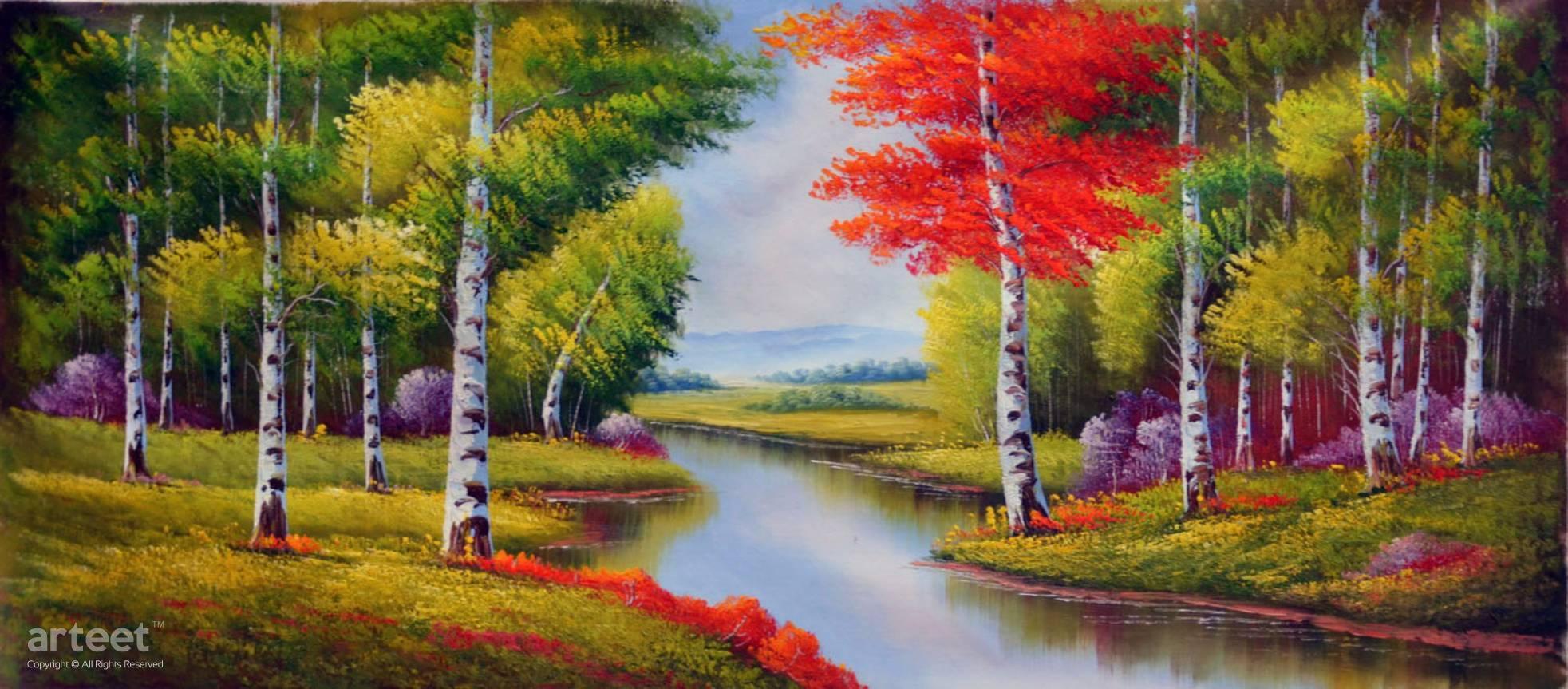 foto de Fort d'automne Paysage   Art Paintings for Sale, Online Gallery