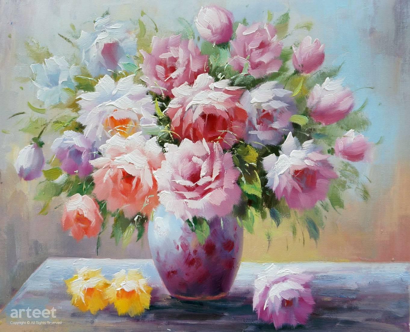 Pink Lady Art Paintings For Sale Arteet