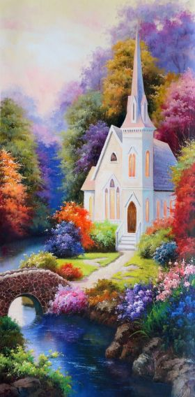 The Church | Art Paintings for Sale, Online Gallery